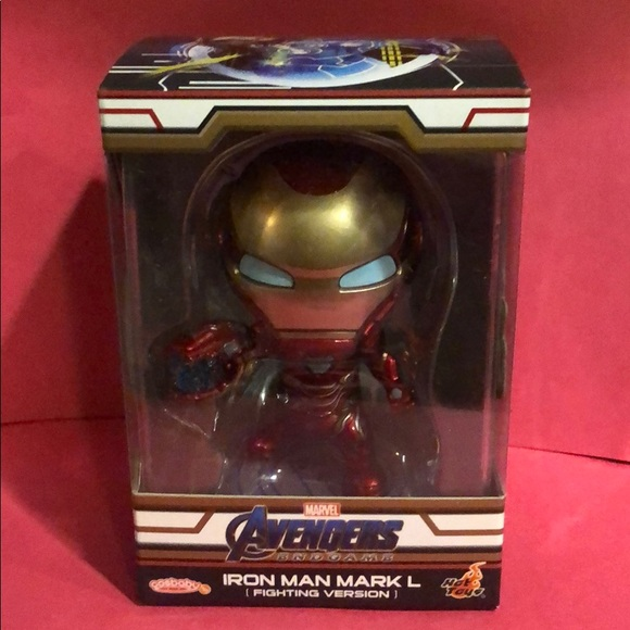 Hot Toys Cosbaby Iron Man Mark L Fighting Version